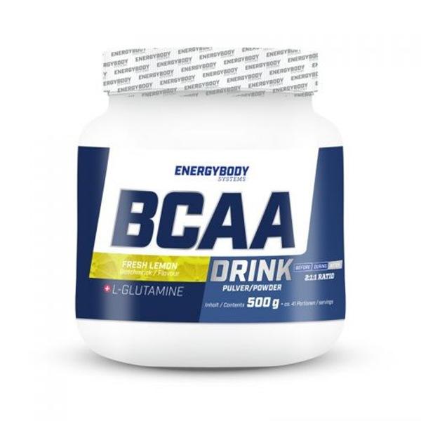 EnergyBody BCAA Drink 500g citron