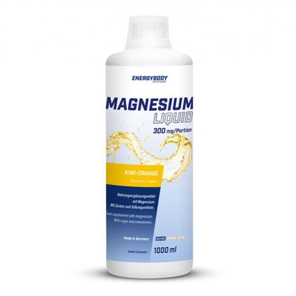DOPLŇKY STRAVY EnergyBody Magnesium Liquid 1000ml kiwi-pomeranč