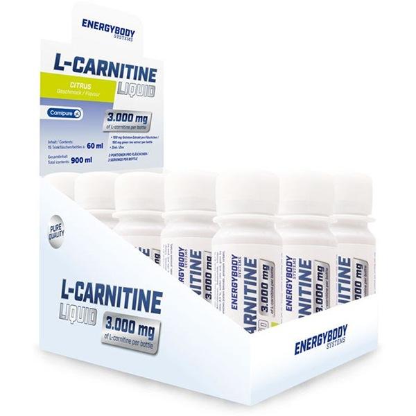 EnergyBody L-Carnitine Liquid 3000mg 15x60ml