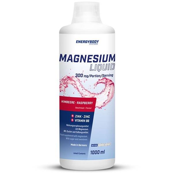 DOPLŇKY STRAVY EnergyBody Magnesium Liquid 1000ml malina