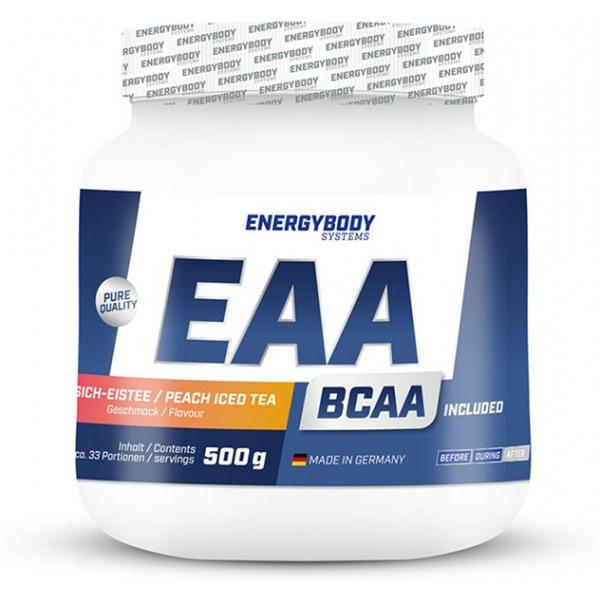 EnergyBody EAA 500g ledový čaj broskev