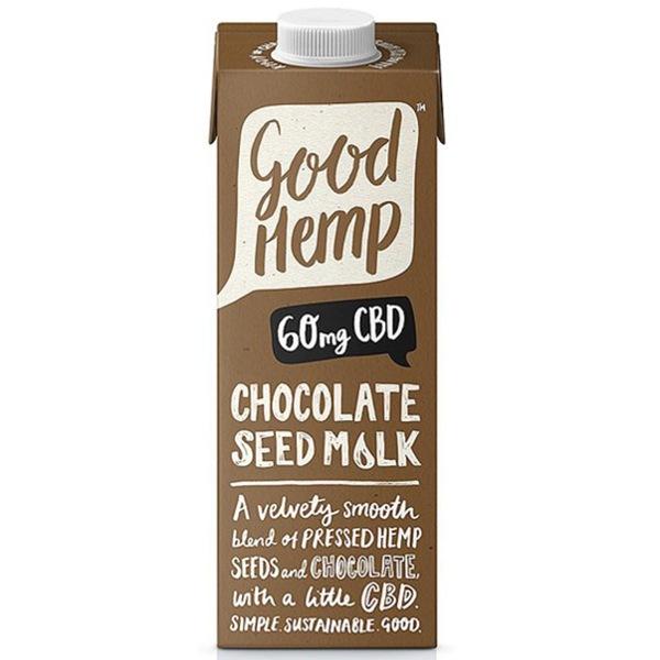 Good Hemp CBD Seed Milk 1000ml chocolate (Konopný nápoj s CBD, se sladovým extraktem)