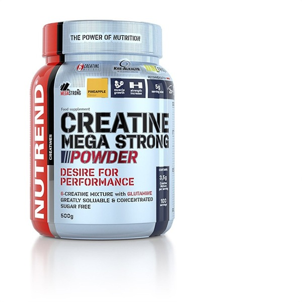 Nutrend Creatine Mega Strong Powder 500g punč-lesní plody
