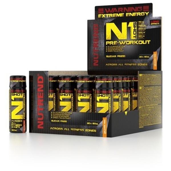Nutrend N1 Pre-Workout Shot 20x60ml