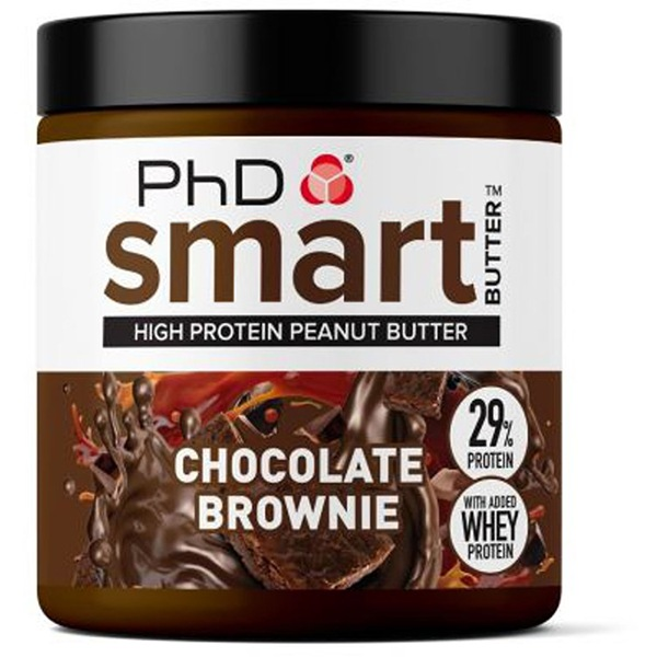 PhD Nutrition Smart Peanut Butter 250g Chocolate Brownie