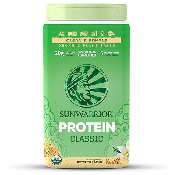 Sunwarrior Protein Classic BIO 750g vanilka