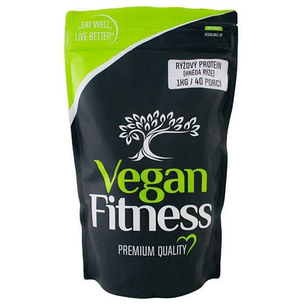 Vegan Fitness Rýžový Protein 1kg (hnědá rýže)