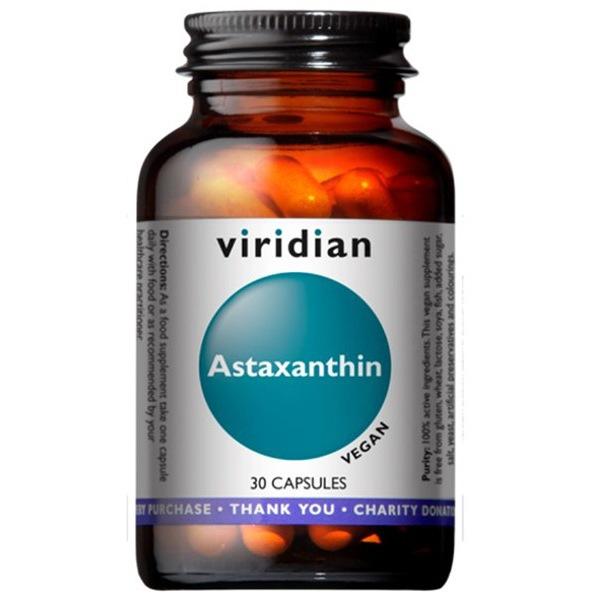 Viridian Astaxanthin 30 kapslí