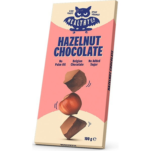 HealthyCo Chocolate oříšková 100g