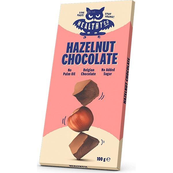 HealthyCo Oříšková čokoláda 100g