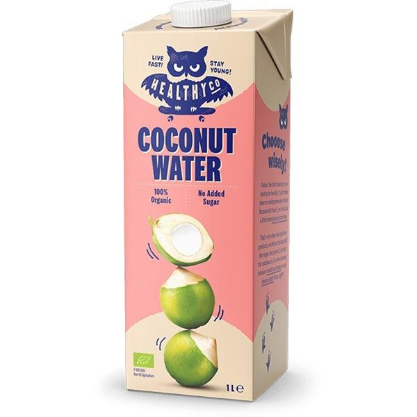 HealthyCo BIO Kokosová voda 1l