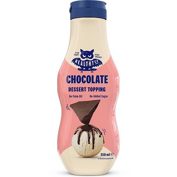 HealthyCo Dessert Topping 250ml příchuť: čokoláda