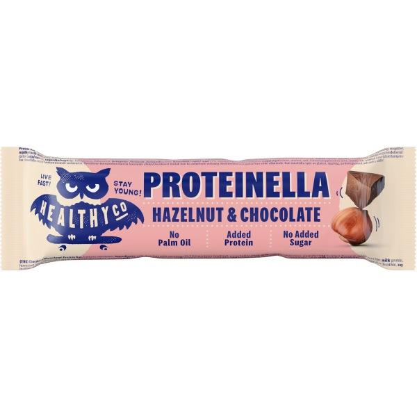 HealthyCo Proteinella Bar 35g Čokoláda/ Lískový ořech