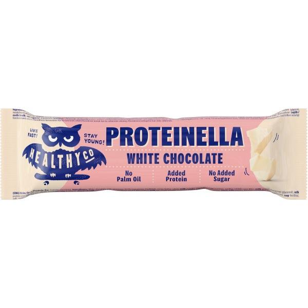 HealthyCo Proteinella Bar 35g Bílá čokoláda