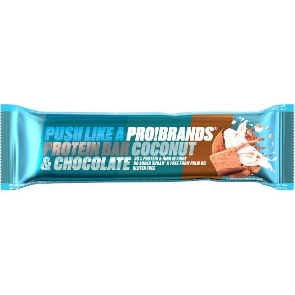 PRO!BRANDS Protein Bar příchuť: kokos