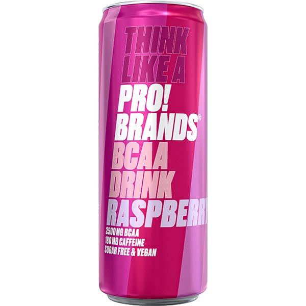 PRO!BRANDS BCAA Drink 330ml malina