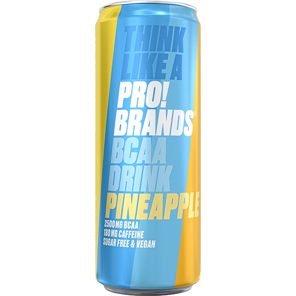 PRO!BRANDS BCAA Drink 330ml ananas