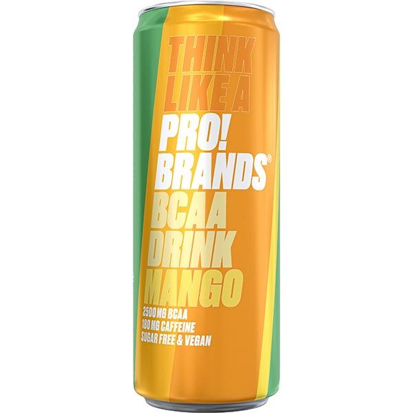 PRO!BRANDS BCAA Drink 330ml mango