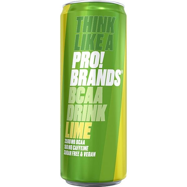 PRO!BRANDS BCAA Drink 330ml limetka