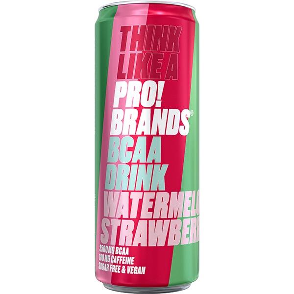 PRO!BRANDS BCAA Drink 330ml meloun/jahoda