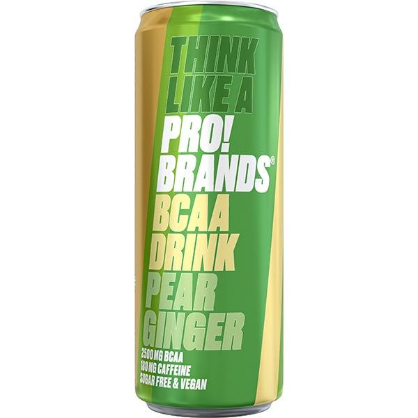 PRO!BRANDS BCAA Drink 330ml hruška/zázvor