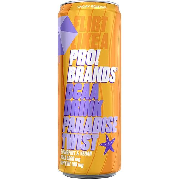 PRO!BRANDS BCAA Drink 330ml příchuť: paradise twist