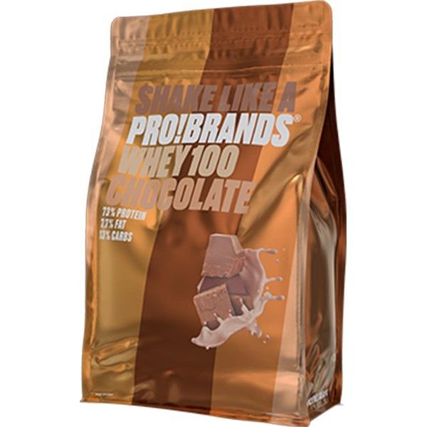 PRO!BRANDS 100% Whey Protein 900g příchuť: čokoláda