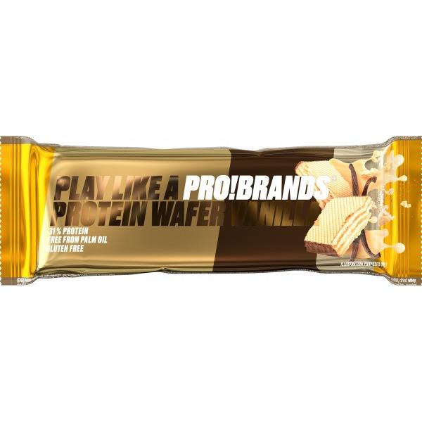 PRO!BRANDS PROTEIN WAFER 40g příchuť: vanilka