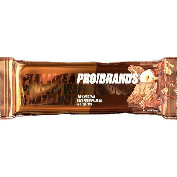 PRO!BRANDS PROTEIN WAFER 40g příchuť: čokoláda/ořech