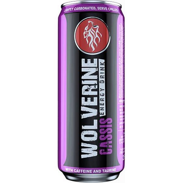 Wolverine Energy Drink 250ml příchuť: černý rybíz
