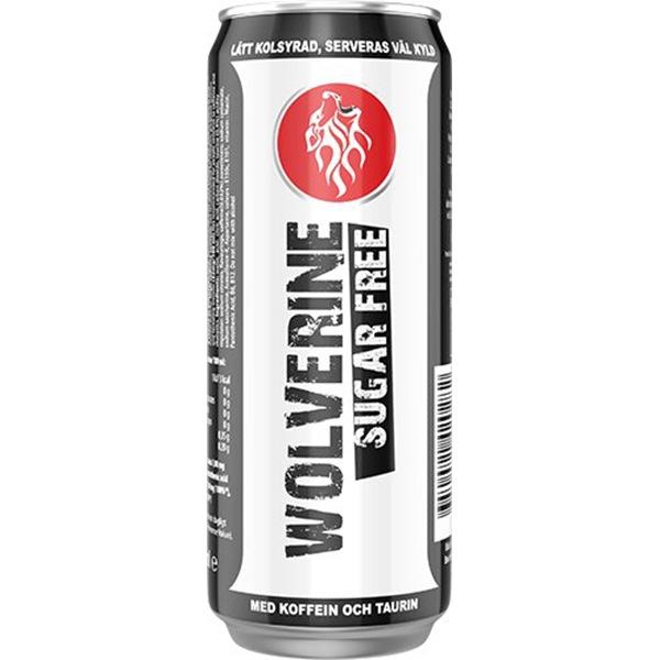 Wolverine Energy Drink 250ml příchuť: bez cukru