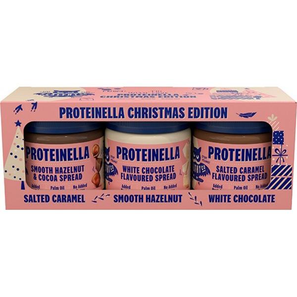 Healthyco Vánoční edice Proteinella 3 x 200 g