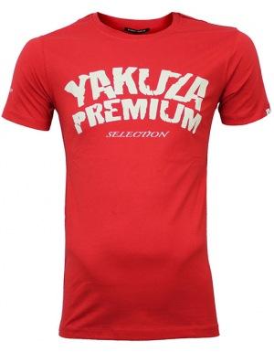 pánské tričko Yakuza Premium Promoshirt red