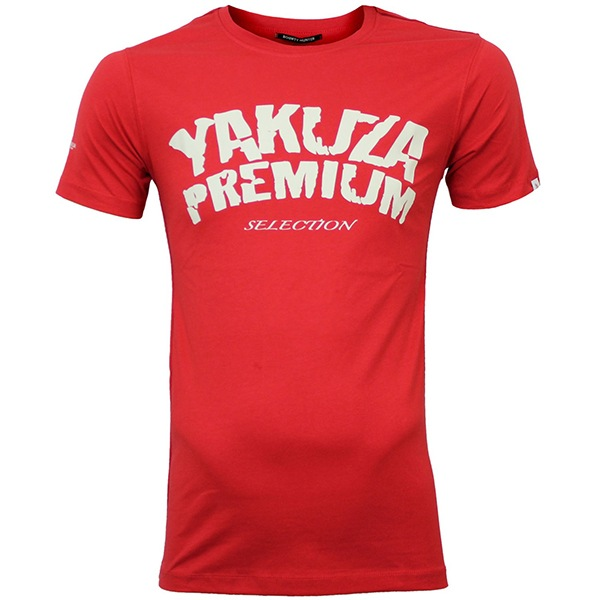 Pánská trička pánské tričko Yakuza Premium Promoshirt red