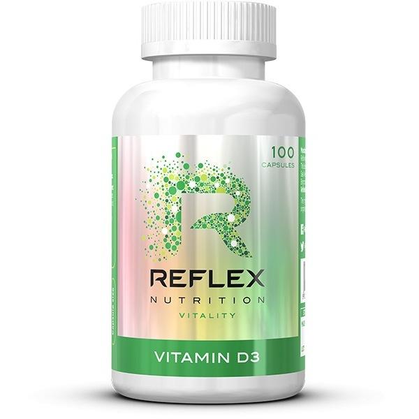 Vitamíny a minerály Reflex Vitamin D3 100 kapslí