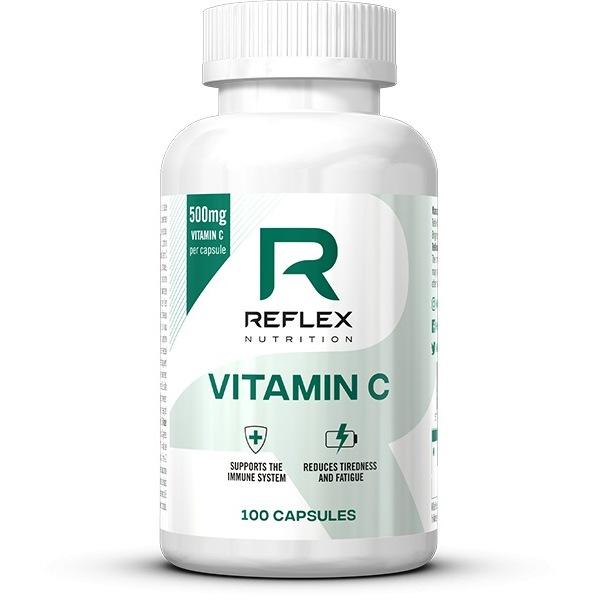 Vitamíny a minerály Reflex Vitamin C 500mg 100 kapslí