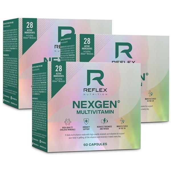 Reflex Nutrition Nexgen® 60 kapslí NEW 2 + 1 ZDARMA
